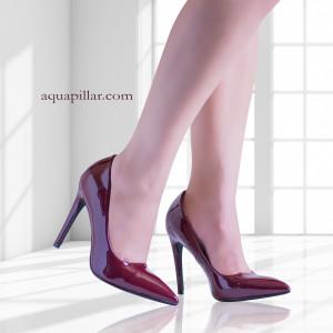 Cindy Pointy Toe Slip On Classic Stiletto Heel Dress Pumps