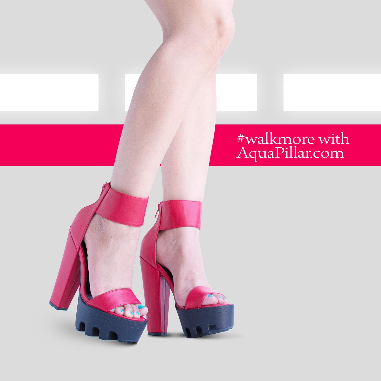 b055286d1bc1 Peep Toe Dress Chunky Lug Platform Thick Heel Ankle Strap Sandal